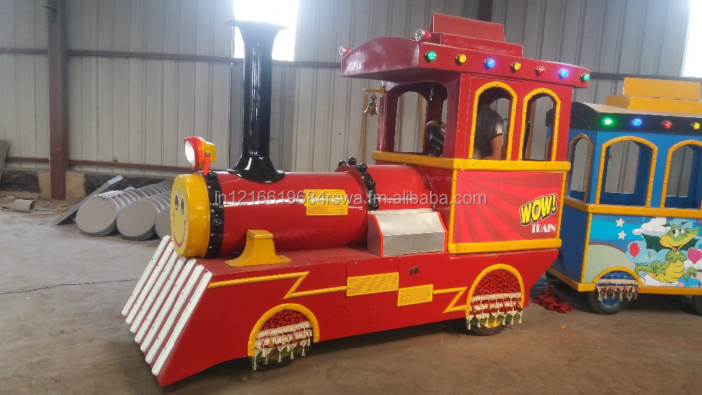 Shopping mall Park Rides used tourist Toy train