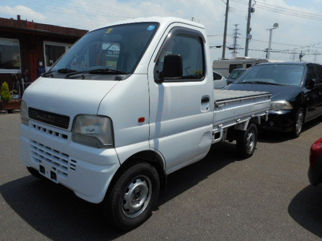 Right hand drive and Reasonable japanese 4x4 mini truck suzuki carry 2001 used truck