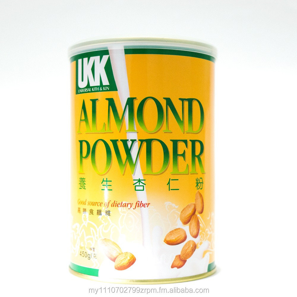 Almond Powder in Tin 450g with Competitive Price (UKK Brand)