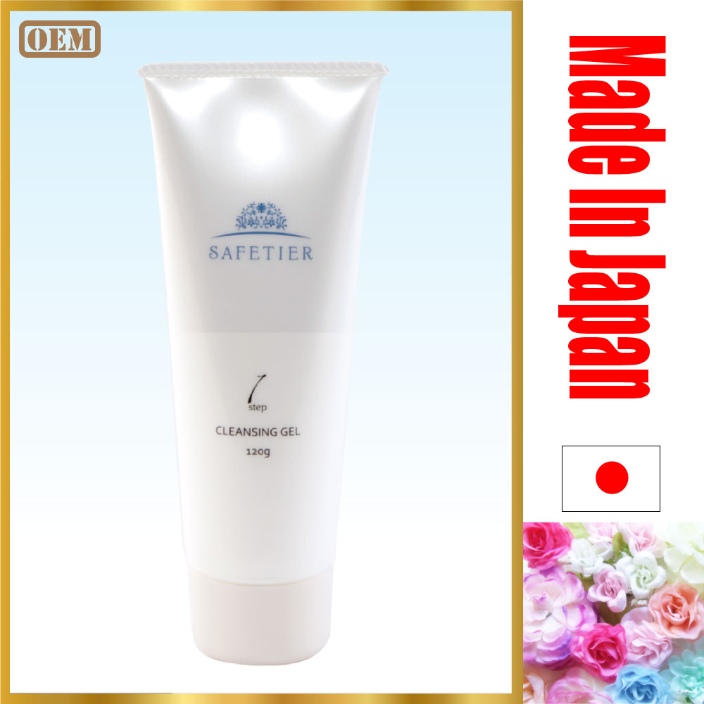 Anti-aging shampoo production line cleansing gel with natural ingredients made in Japan