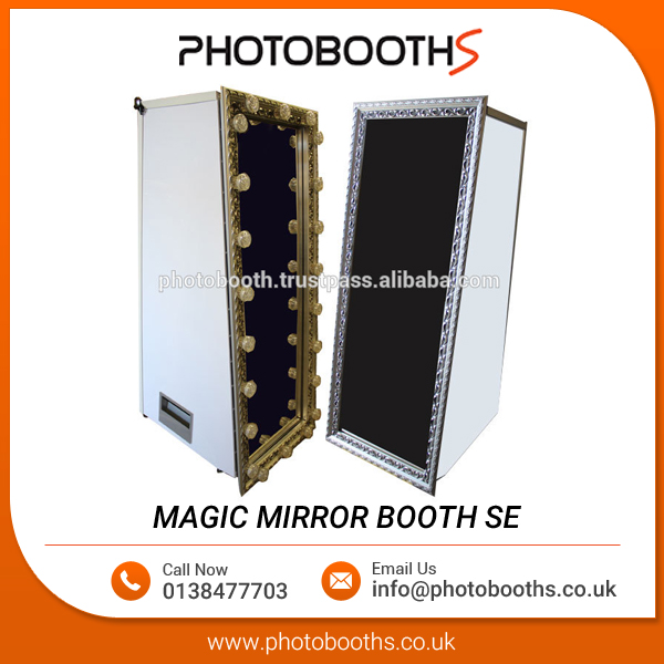 Magic Mirror Full Length Photo Booth (Portable)