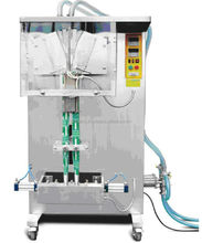 Solpack Ice Lolly Filling & sealing Machines (double nozzle)