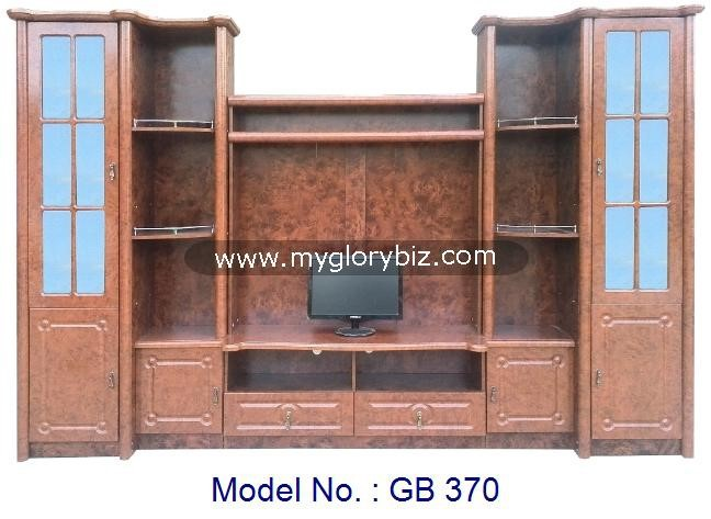 New Models TV Cabinet MDF Furniture With Showcase, antique wood tv hall cabinet living room furniture designs, Tv cabinets unit