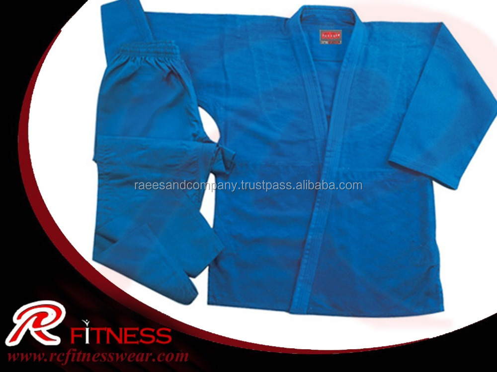 Martial arts judo uniforms 100% cotton blue judo gi fabric sale,top ten quality karate uniform / Martial Arts Karate Clothing