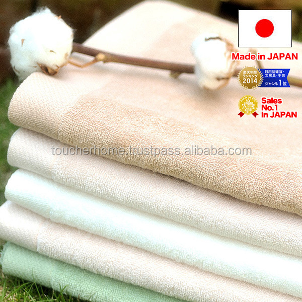 Organic fingertip towel supplier in Japan