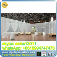 RK Hot selling pipe and drape for wedding/event/trade show, ppr pipe for hot water,used pipe and drape for sale