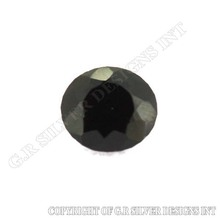 AAA top quality gemstones black onyx cut stones for handmade jewelry making