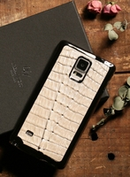 Note 4 white back cover Caiman