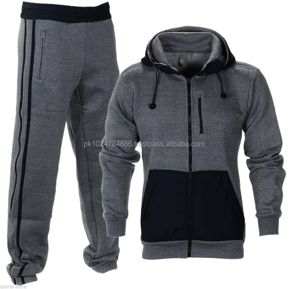 NEW custom mens track suit fashion quality warm up suits sport jogging suits