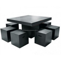 Marble Coffee Table Hand Sculpture Carving Stone For Resort, House And Garden