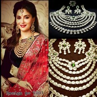 bollywood bridal jewellery necklace Sets