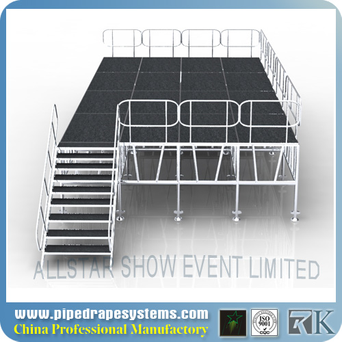 High Quality 4ft x 4ft car show stage
