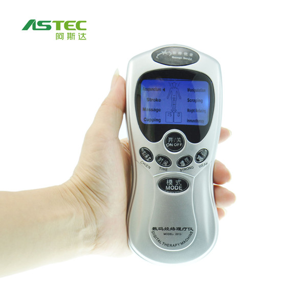 AS1019 micro current massager digital therapy machine