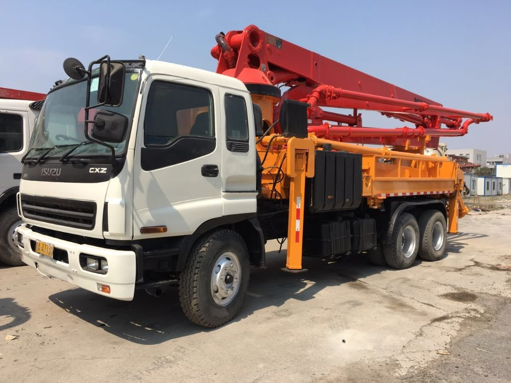 SANY Used 42m Truck Mounted Concrete Pump for Sale