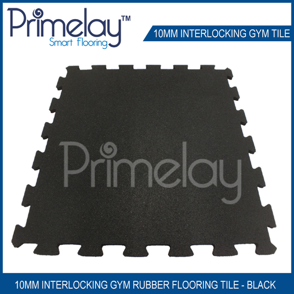 Rubber Gym Tiles | reduce vibration on impact