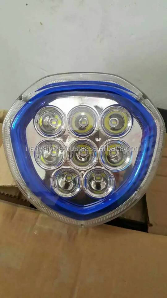 2016 new arrived fancy led headlight for rickshaw