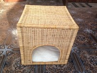 Bamboo pet house, small house for animal, fashionable bamboo cat/dog house