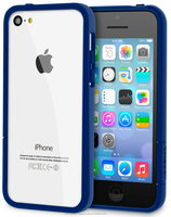 ProGuard Polycarbonate bumper case with high matte finish for iPhone 5C roocase (Matte Navy)