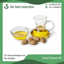 100% Organic Natural Essential Sweet Almond Oil