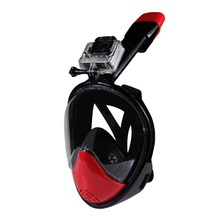 180-degree Full Face Snorkel Mask for GoPro Xiaomi Yi Camera Diving Set,CE Diving Mask for Gopro