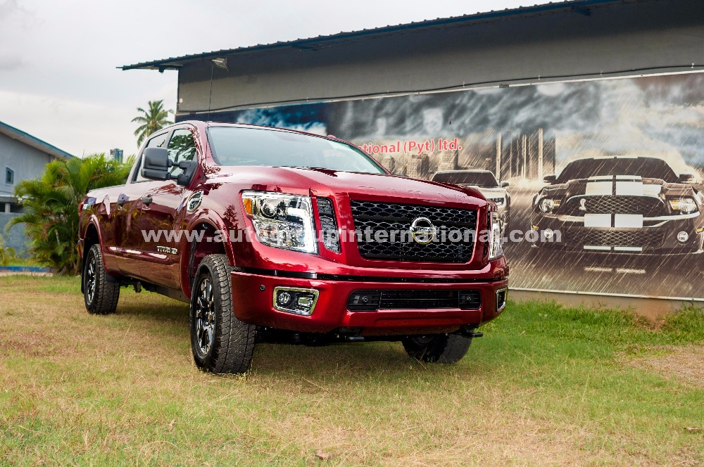 Nissan Titan 2016 - Right Hand Drive Conversion