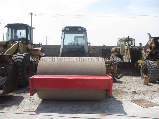 Used Dynapac mini Road Roller ca251d ca301d second hand condition CA25D ca250D USED compactor