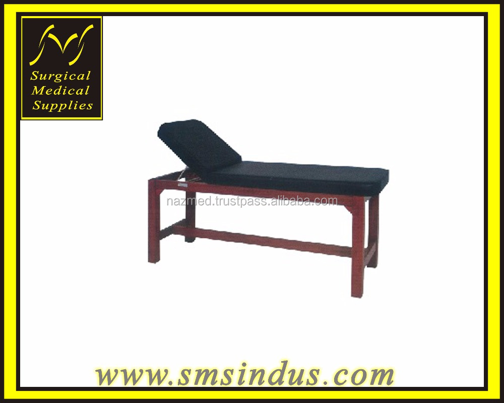 Examination Couch Wooden For Ultrasound Treatment