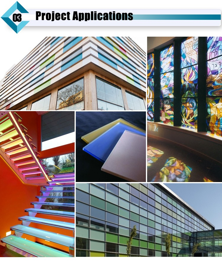 3mm 4mm 5mm 6mm 8mm 9mm 10mm 12mm Color Painted Glass Panels Cost For Glass Top
