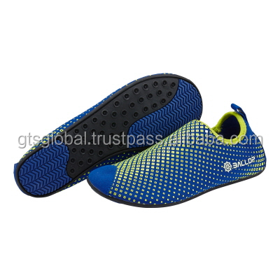Aqua shoes, Water Sports Shoes, Skin Shoes, Fitness, Gym, Yoga, treadmill Shoes---Ballop Dia Blue