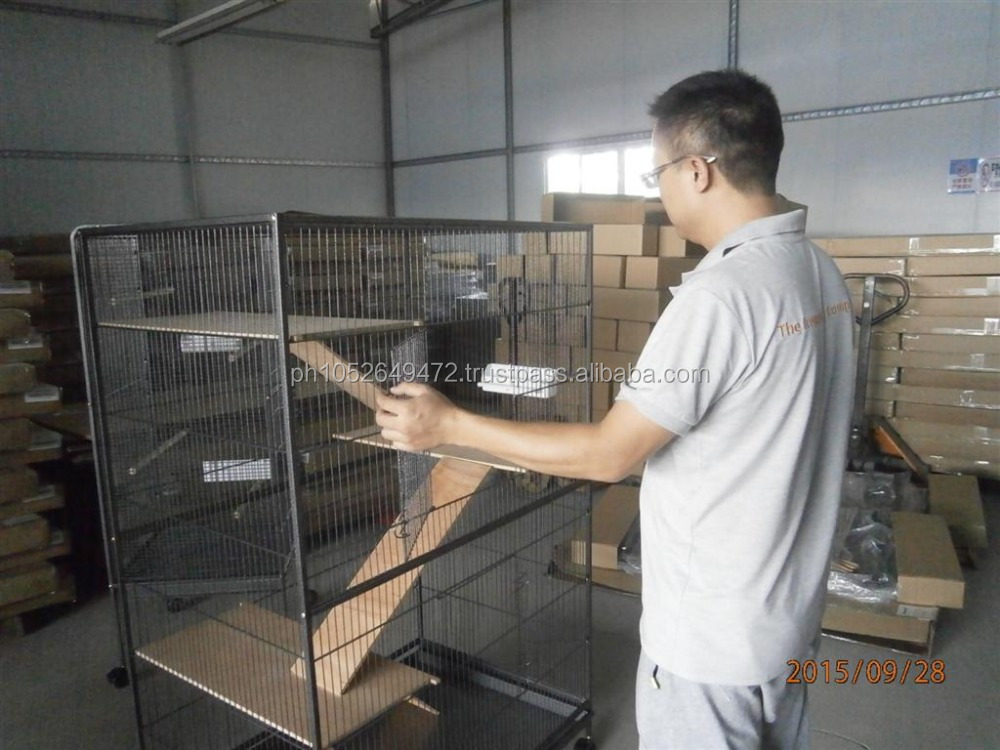 Metal Cages Pre-Shipment Inspection in China