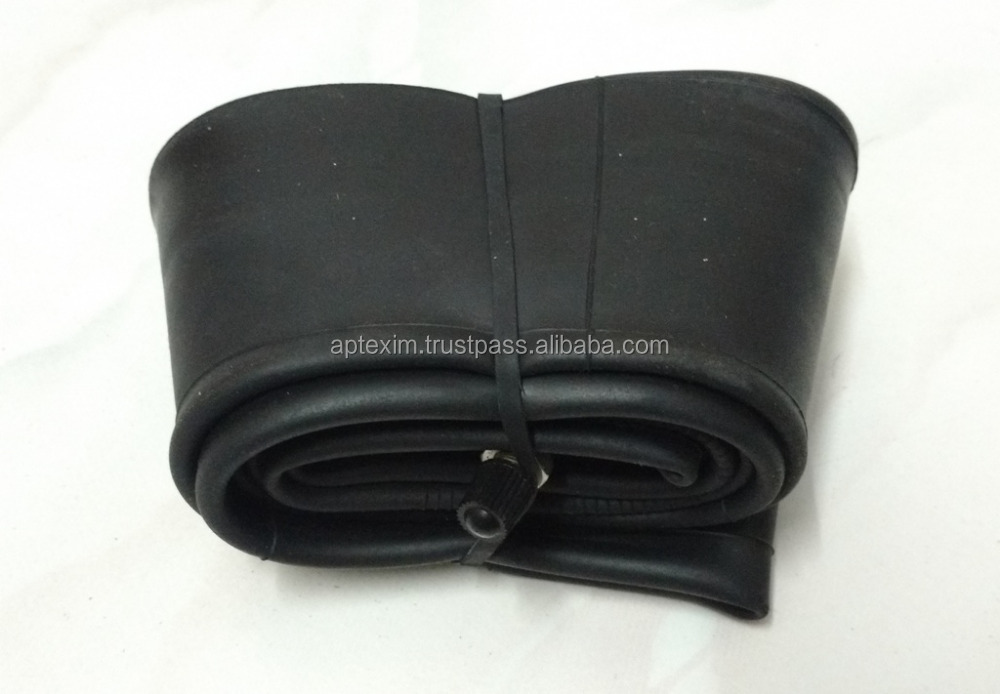Best quality two wheeler & butyl finish natural rubber tubes
