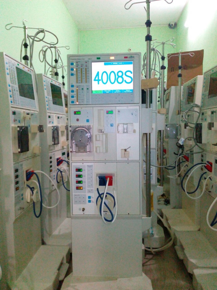 Dialysis Machine for Human Blood Purification Process