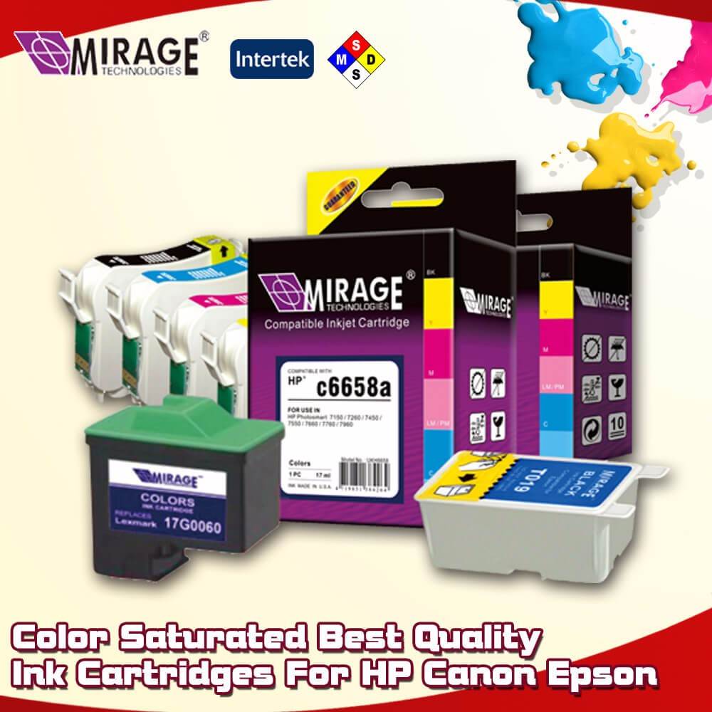 Compatible And Remanufactured Ink Cartidges For Epson Canon