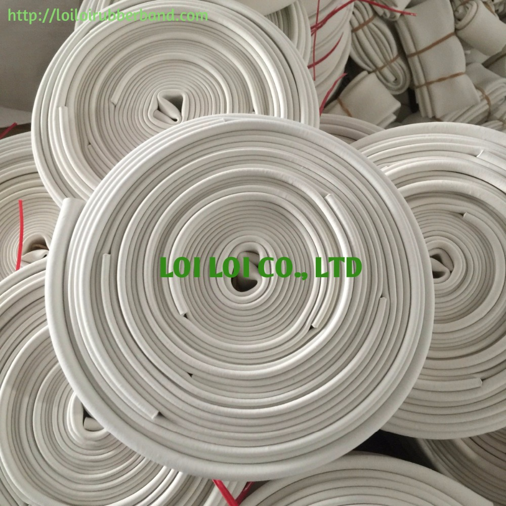 Inflation White Rubber Hose - Natural rubber tube Waterproof best price from factory