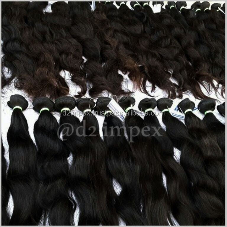 Best quality human hair wholesale hair extensions simple hair from singapore
