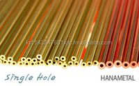 Manufacturer High Quality EDM Electrode Copper/Brass Tube & EDM Copper/Brass Electrode Pipe For EDM Drilling Machine