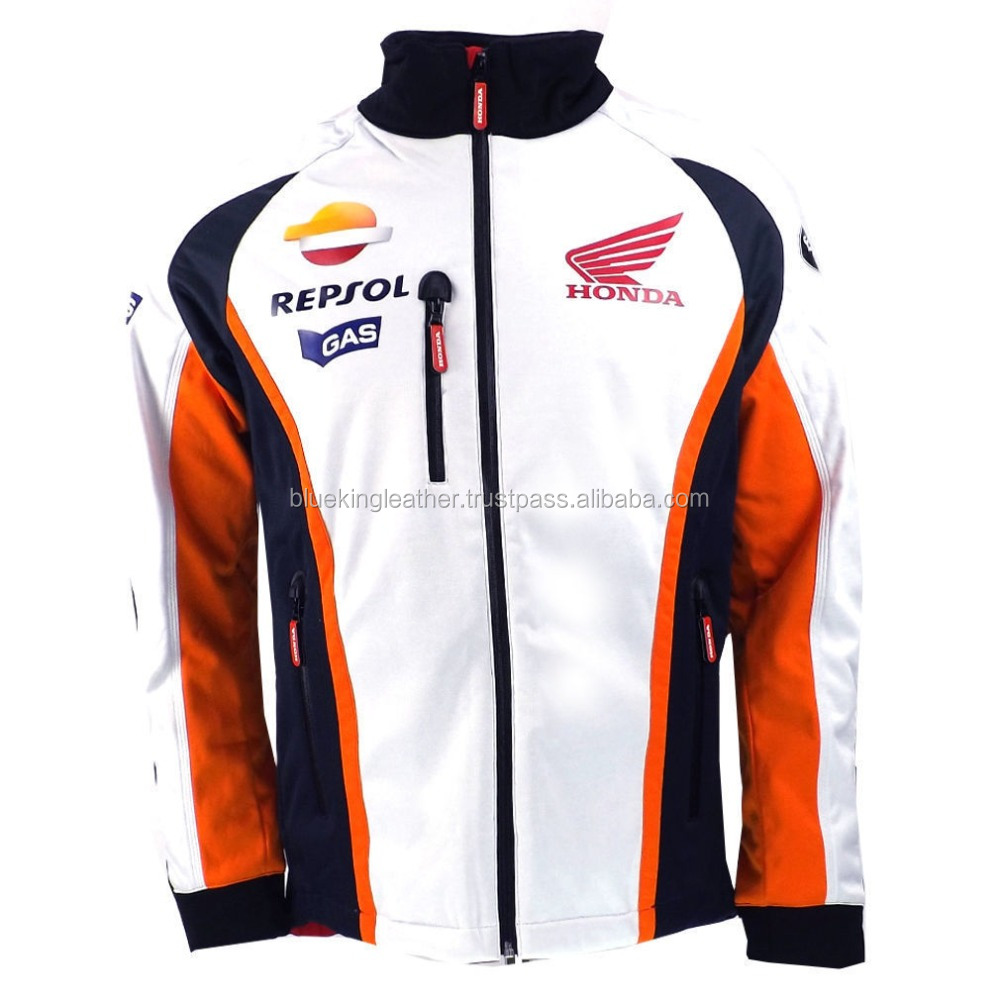 Honda Repsol Moto GP Team Gas Soft Shell Jacket With Safety pads