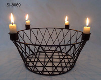 UNITY CANDLE STAND/BASKET TEA LIGHT