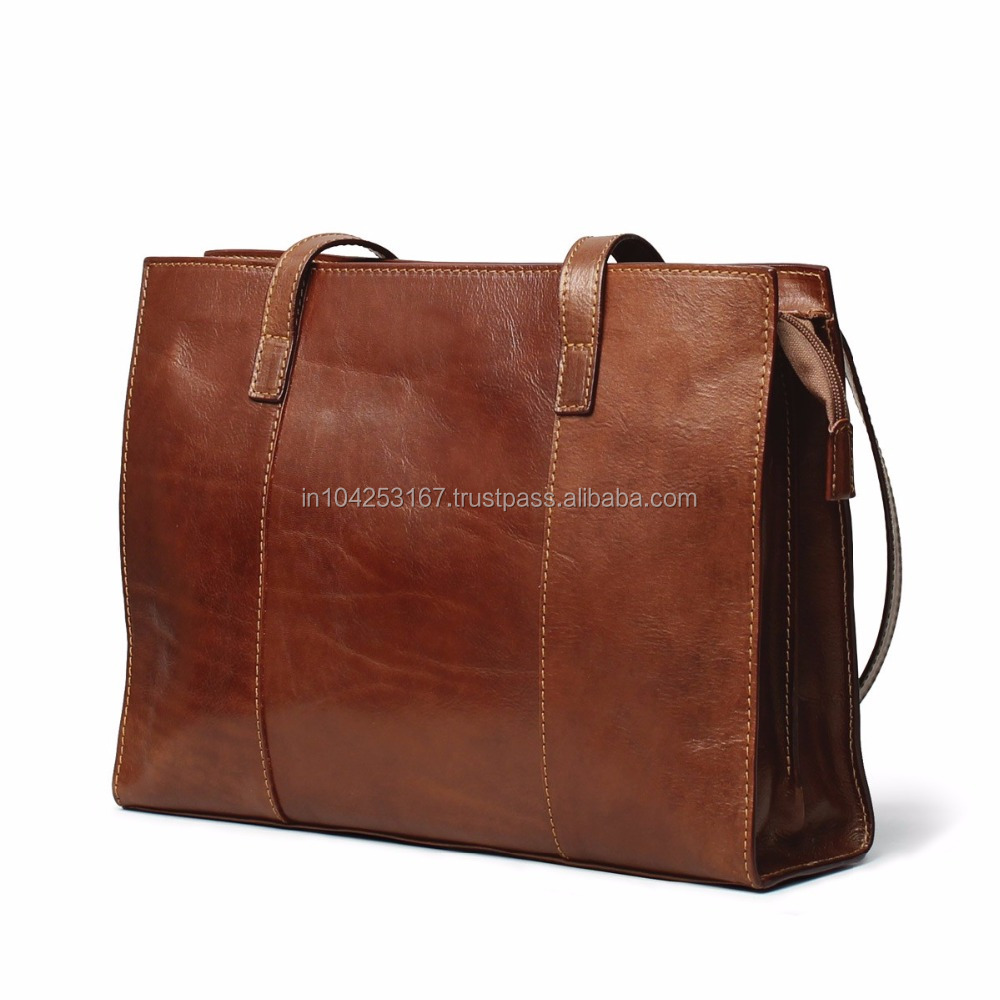 women bag leather handbag, lady leather bag, pu leather bag made in india