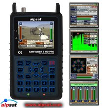"SATFINDER 5HD PRO - SF-05HD / 3.5"" LCD DVB-S2 SATELLITE SIGNAL METER REAL FAST SPECTRUM"