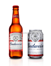 FMCG products 330 ml can Budweiser beer