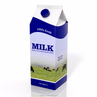 UHT Fresh Milk, Carton Milk