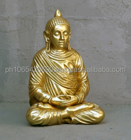 Praying Buddha figure