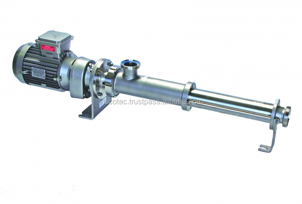Volumetric conveying pump for dosing abrasive, shear sensitive and lumpy media / Dosing unit for filling machines