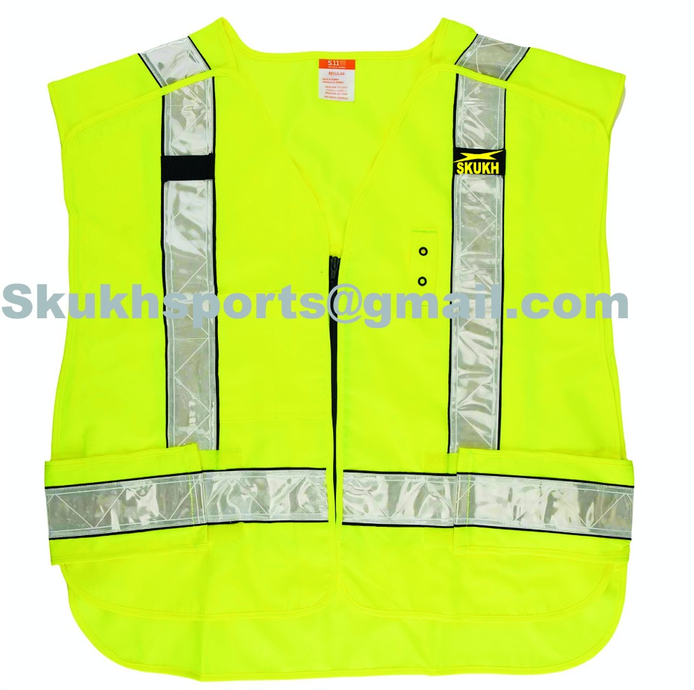 hi vis workwear mesh safety vest road safety equipment protection vest.100% Original vest