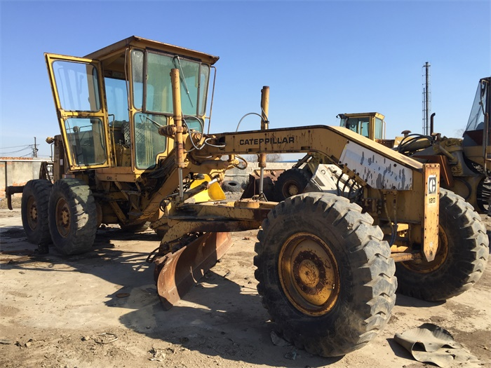 GOOD PRICE JAPAN CAT USED MOTOR GRADER 140G 12G