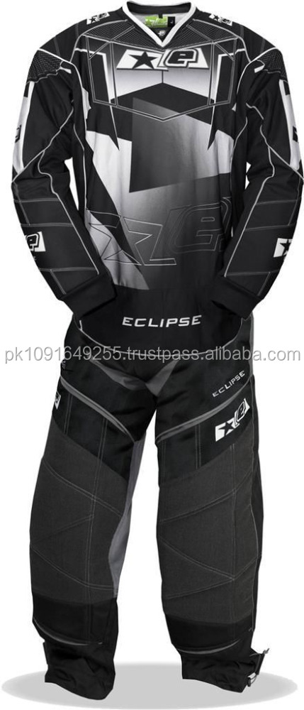 New Sublimated Paintball Uniform Design in Different Colors