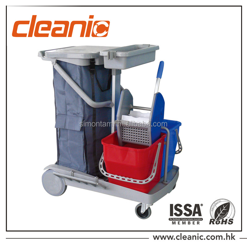 JT-130 Janitor Cart / Cleaning trolley / cleaning service cart