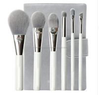"CC-23513 6 Piece Set ""Bamboo Fiber Brushes"" High-End Professional Tools"