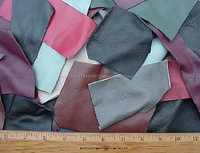 genuine leather scrap for sale waste leather Grade A 5LB Assorted Upholstery Scrap